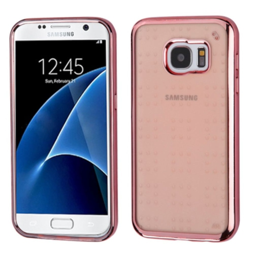 Insten TPU Case For Samsung Galaxy S7 - Rose Gold