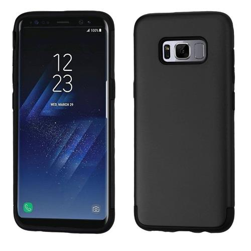 Insten Hard Dual Layer TPU Cover Case For Samsung Galaxy S8 - Black