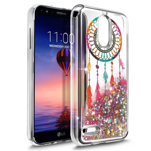 Insten Quicksand Dreamcatcher Hard Plastic TPU Case For LG Stylo 3 - Colorful