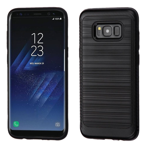 Insten Fitted Soft Shell Case for Samsung Galaxy S8 Plus - Black