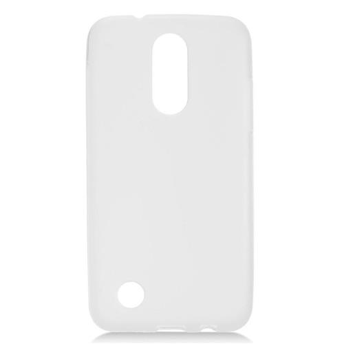 Insten Rubber Cover Case For LG K10 (2017)/K20 Plus - Clear