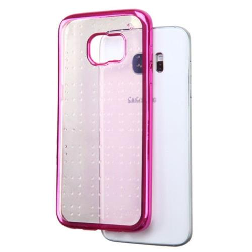 Insten TPU Cover Case For Samsung Galaxy S7 Edge - Hot Pink