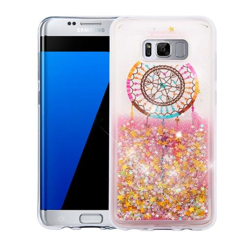 Insten Quicksand Dreamcatcher Hard Glitter TPU Case For Samsung Galaxy S8 Plus - Colorful