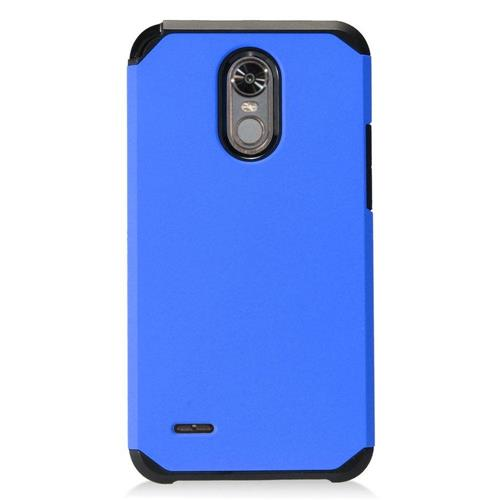 Insten Hard Hybrid TPU Cover Case For LG Stylo 3 - Blue