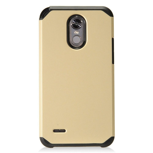 Insten Hard Hybrid TPU Cover Case For LG Stylo 3 - Gold