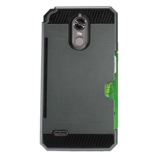 Insten Fitted Soft Shell Case - Black;Gray