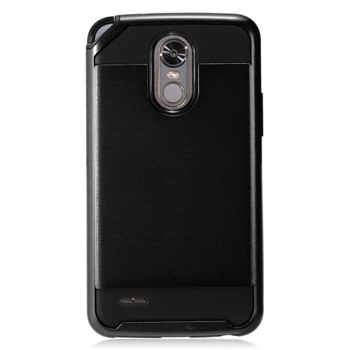 Insten Hard Dual Layer TPU Case For LG Stylo 3 - Black