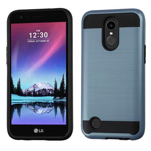 Insten Hard Hybrid TPU Cover Case For LG K10 (2017)/K20 Plus/V5 - Blue/Black