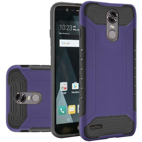 Insten Hard Dual Layer TPU Case For LG Stylo 3 - Purple/Black