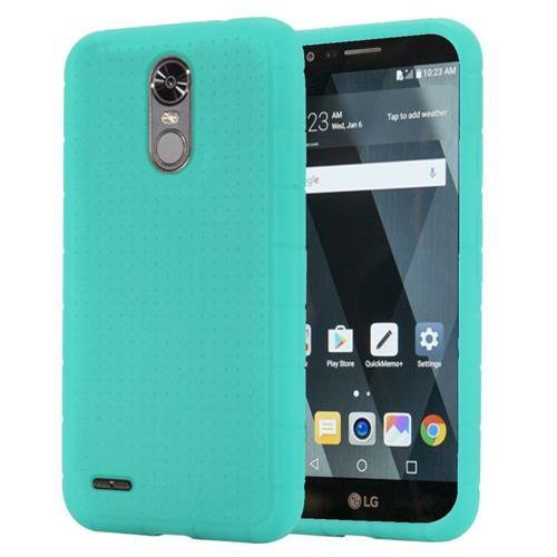 Insten Gel Rubber Cover Case For LG Stylo 3 - Teal