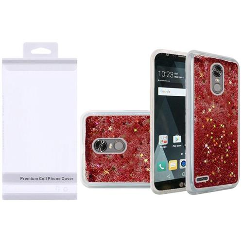 Insten Quicksand Hard Glitter Case For LG Stylo 3/Stylo 3 Plus - Rose Gold