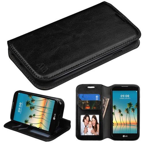 Insten Wallet Case - Black