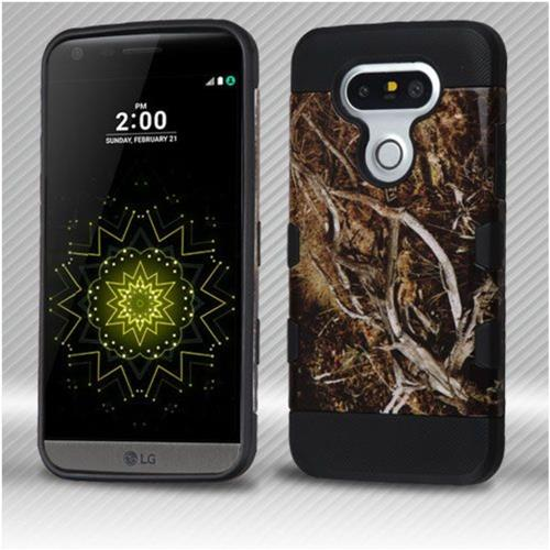Insten Vines Hard TPU Cover Case For LG G5 - Yellow/Black