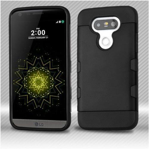 Insten Hard TPU Cover Case For LG G5 - Black