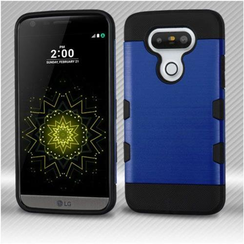 Insten Fitted Soft Shell Case for LG G5 - Black;Blue