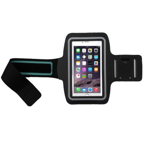 Insten Vertical Pouch Universal Sport Armband with Adjustable Armband, Black