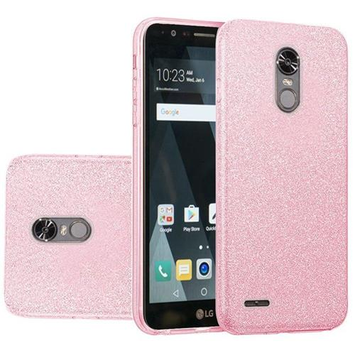 Insten Hard Glitter TPU Case For LG Stylo 3 - Pink