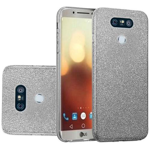 Insten Hard Glitter TPU Cover Case For LG G6 - Smoke