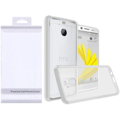 Insten Hard Crystal TPU Cover Case For HTC Bolt - Clear