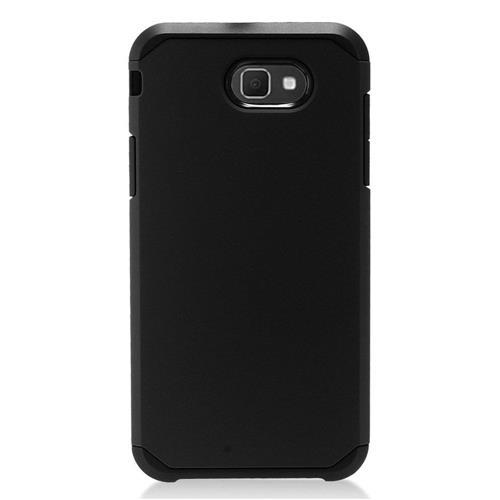 Insten Hard Hybrid TPU Cover Case For Samsung Galaxy J7 (2017)/J7 Perx/J7 Sky Pro/J7 V - Black
