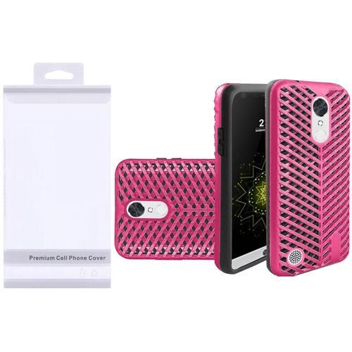Insten Hard Hybrid TPU Case For LG Grace 4G/Harmony/K20 Plus/K20 V, Pink