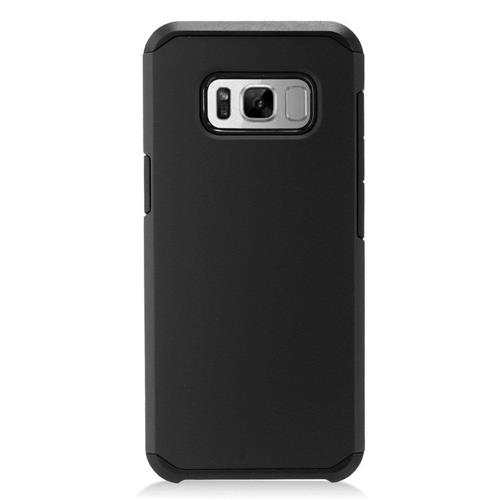 Insten Hard Hybrid TPU Cover Case For Samsung Galaxy S8 - Black