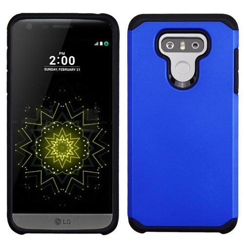 Insten Hard Dual Layer TPU Case For LG G6 - Blue/Black