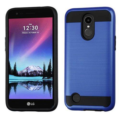 Insten Hard Hybrid TPU Case For LG K20 Plus/V5 - Blue/Black
