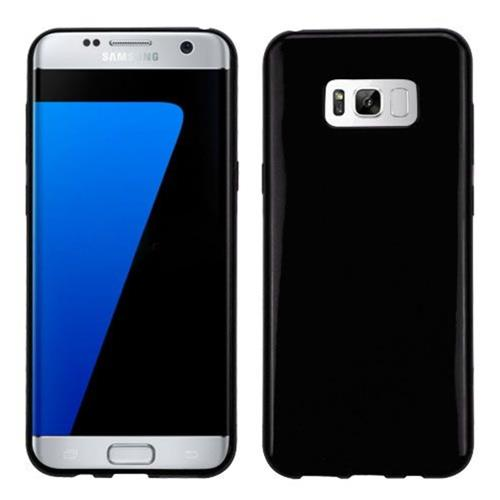 Insten Fitted Hard Shell Case for Samsung Galaxy S8 Plus - Black