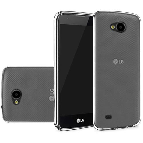 Insten Hard Clear Crystal TPU Cover Case For LG X Venture, Smoke