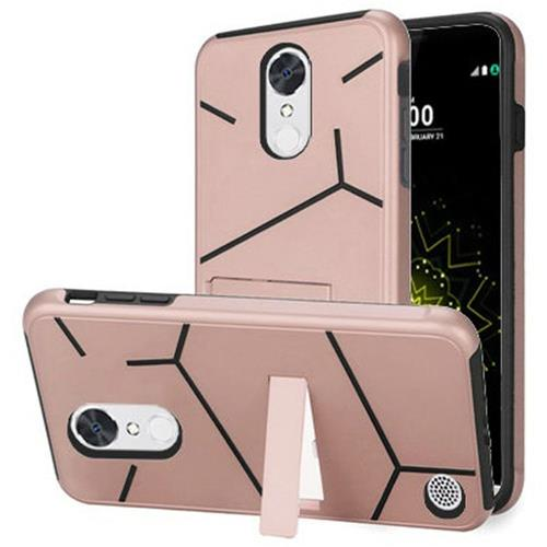 Insten Fitted Soft Shell Case - Black;Rose Gold
