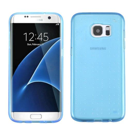 Insten Gel Case For Samsung Galaxy S7 Edge - Blue