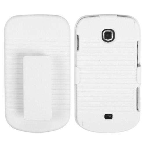 Insten Hard Case w/Holster For Samsung Galaxy Stellar 4G - White