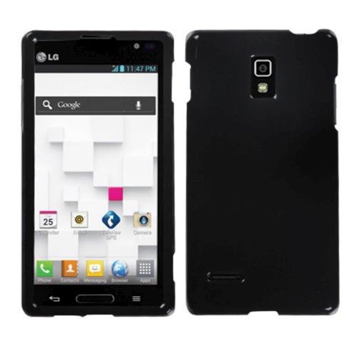 Insten Hard Cover Case For LG Optimus L9 P769 - Black
