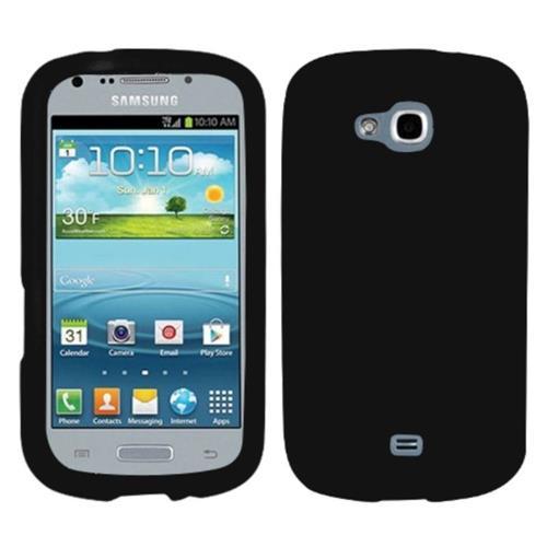 Insten Rubber Case For Samsung Galaxy Axiom Admire 2 - Black