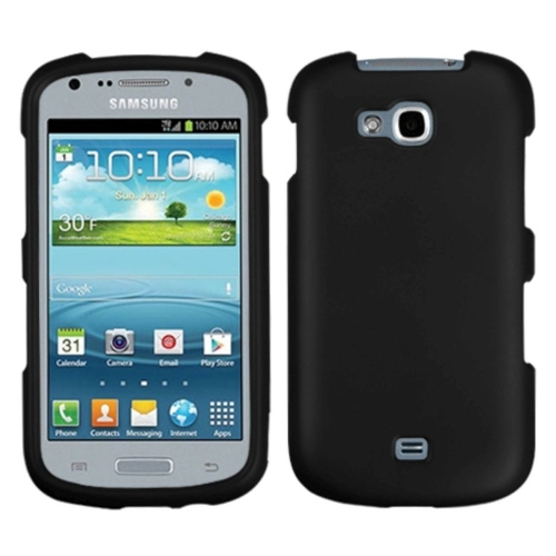 Insten Hard Case For Samsung Galaxy Axiom Admire 2 - Black