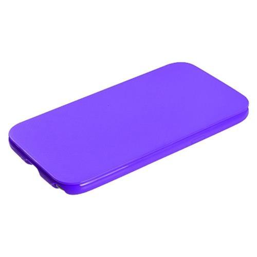 Insten TPU Gel Matte Case For Samsung Galaxy Note II - Purple