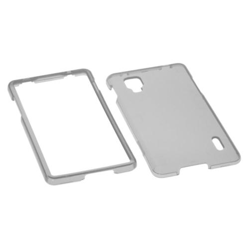 Insten Hard Transparent Crystal Cover Case For LG Optimus G LS970 Sprint - Smoke