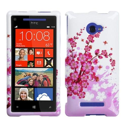 Insten Hard Case For HTC Windows Phone 8X - White