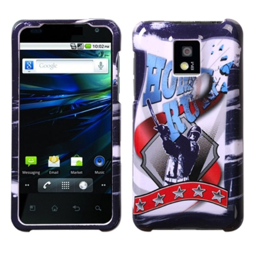 Insten Home Run Hard Rubber Case For LG G2x