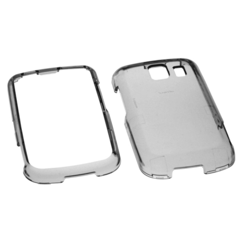 Insten Hard Transparent Crystal Case For LG VS660 - Smoke