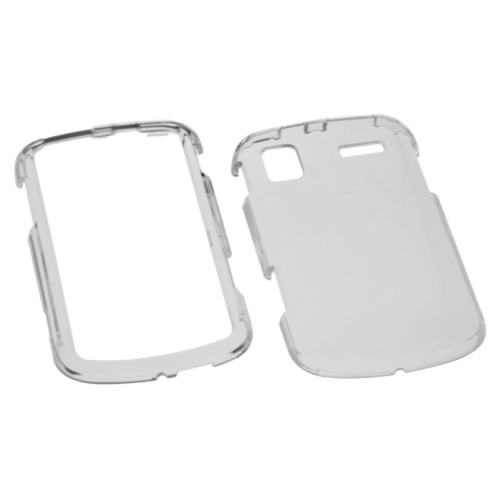 Insten Hard Transparent Crystal Cover Case For Samsung Focus - Smoke