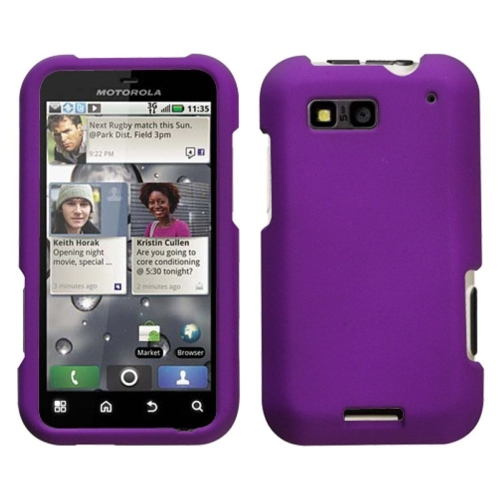 insten hard rubber cover case for motorola defy mb525 purple rh bestbuy ca Motorola Mobility Motorola Z