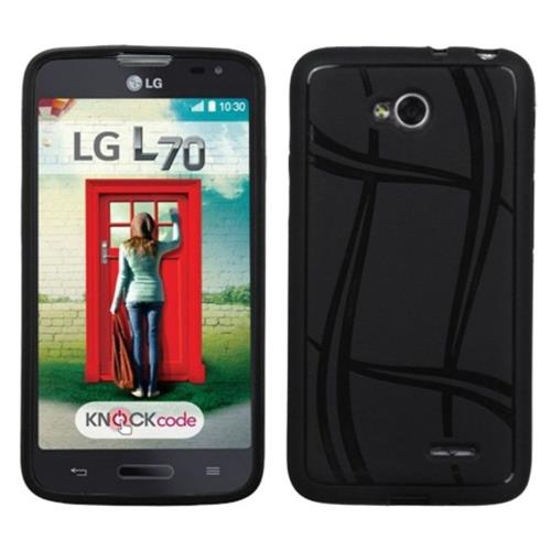 Insten Basketball Gel Cover Case For LG Optimus Exceed 2 VS450PP Verizon/Optimus L70 - Black