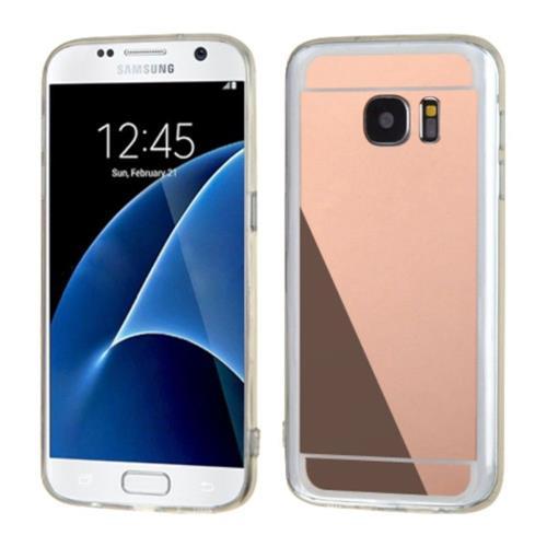 Insten Gel Case For Samsung Galaxy S7 - Rose Gold