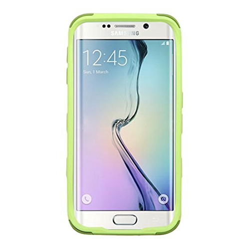 Insten Fitted Soft Shell Case for Samsung Galaxy S6 Edge - Green