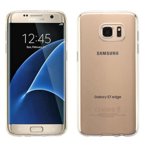 Insten Rubber Case For Samsung Galaxy S7 Edge - White