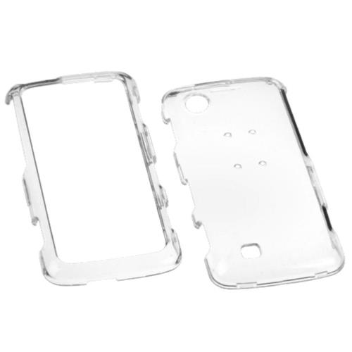Insten Hard Crystal Case For LG Chocolate Touch - Clear