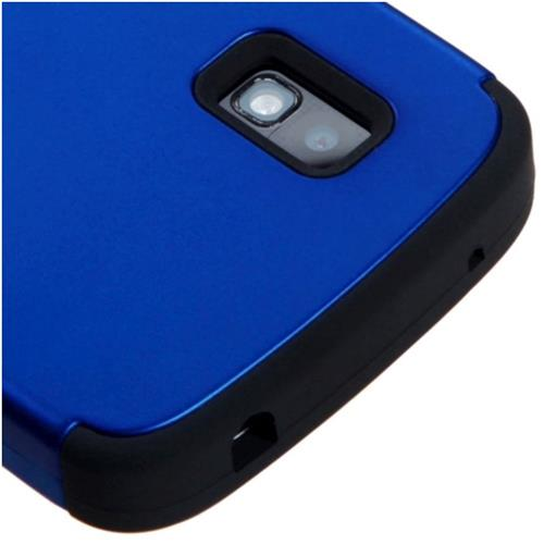 Insten Fitted Soft Shell Case for Nexus - Black;Dark Blue