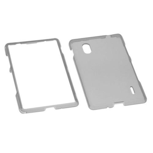 Insten Hard Transparent Crystal Cover Case For LG Optimus G E970 - Smoke